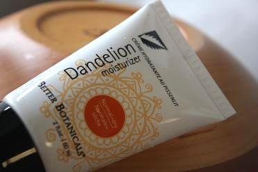 Better Botanicals, Dandelion Moisturizer, 2 fl oz (60 ml)