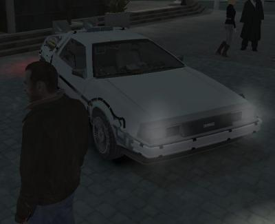 GTA4 Delorean TimeMachine