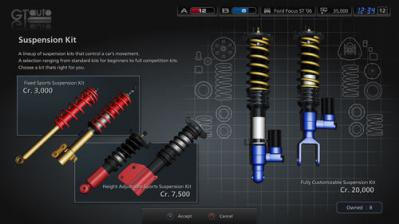 GT5 Suspension