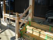 法誓寺様 階段