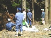カマの谷 上野⇔向井地境界 2