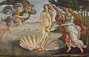 ヴィーナスの誕生Botticelli_046