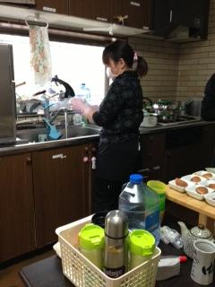 茶話本舗3キッキン