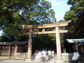 神宮入り口
