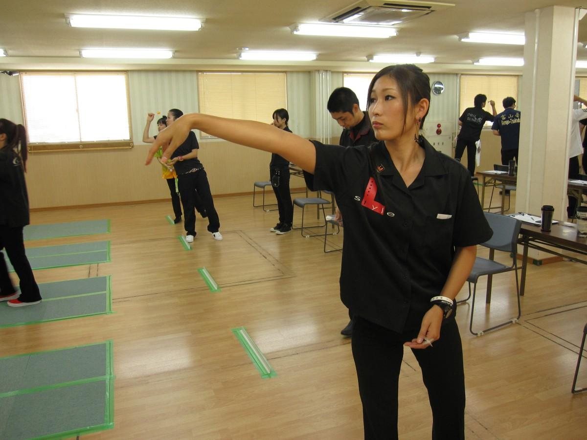 長野ダーツ選手権 練習風景-7