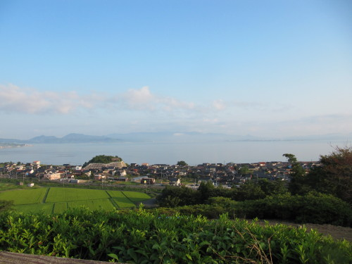 中海の見える風景