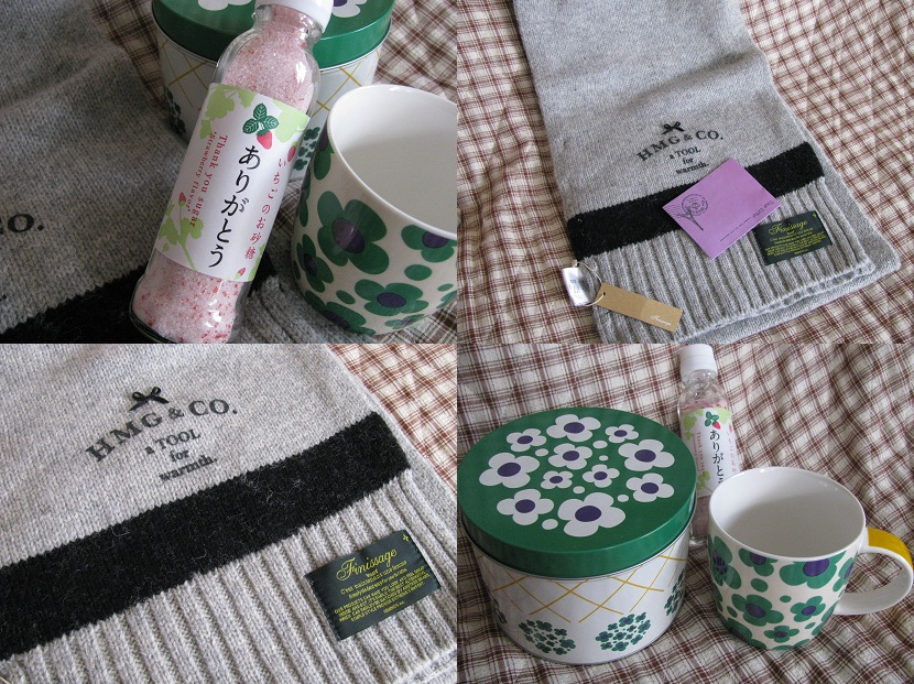 20111029みっちぃ&えんちゃんからの誕プレ♪