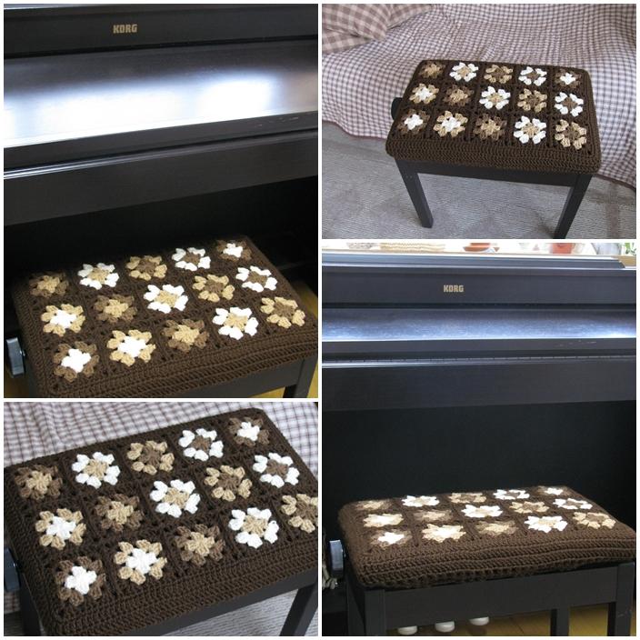 ②20120110ピアノ椅子カバー