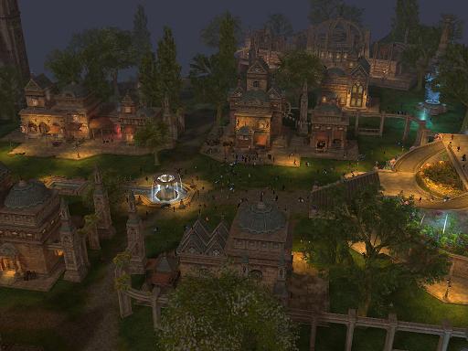 新話せる島の村・夜