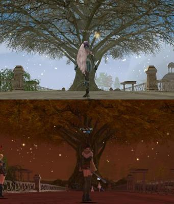 世界樹新旧比較