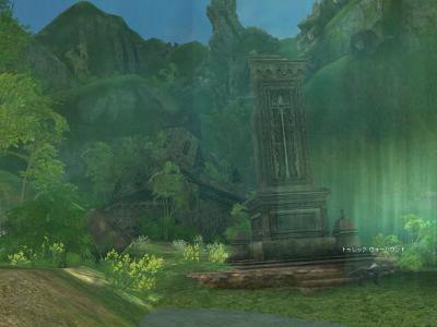 旧話せる島の村・聖堂と塔