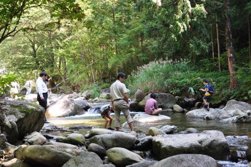 渓流に親しもう2012-1