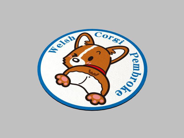 マウスパッド未来予想図-コーギーファン