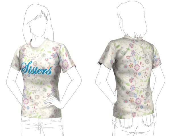 Tシャツ-未来予想図-sisters