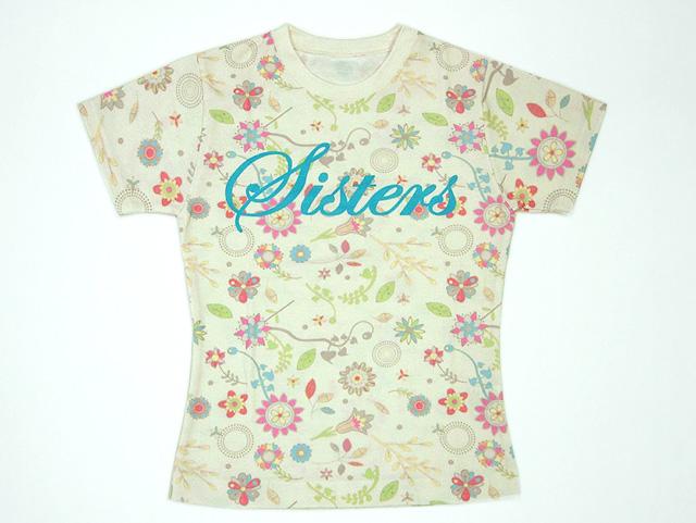 Tシャツ-製品写真-sisters1