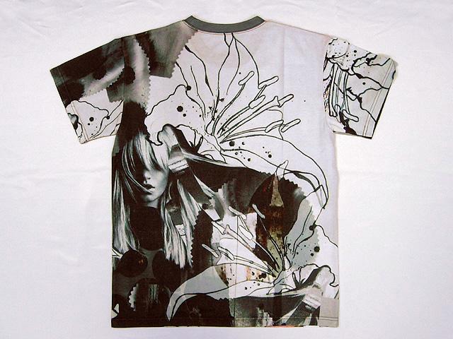 Tシャツ製品写真-後-love
