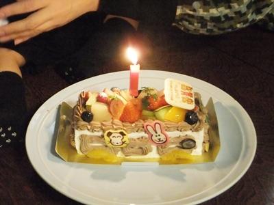 ジンくん1歳のお誕生日会