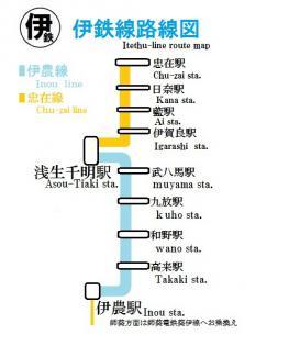 伊農線路線図3