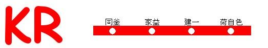 建一電鉄路線図2