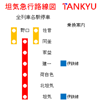 坦急路線図1