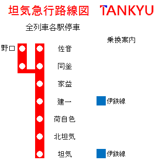 坦急路線図2