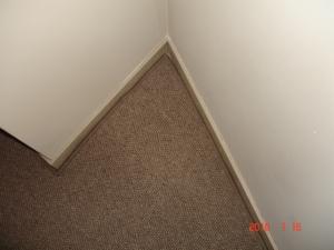 置き敷きカーペット新規施工2