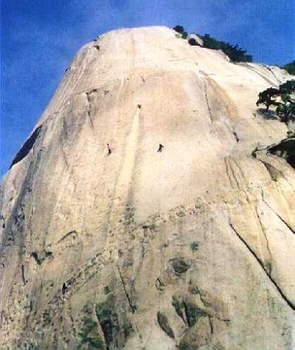 仁寿峰の大スラブ