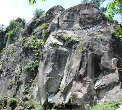 岩屋ロックガーデンの全景