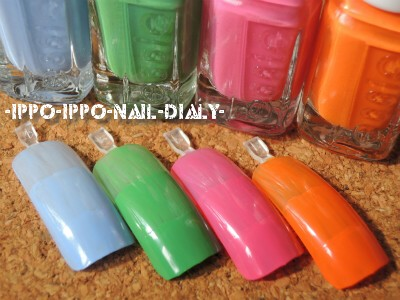 essie 2012 summer③ mini
