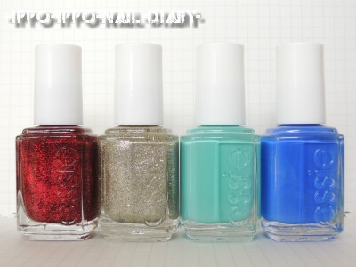 essie 2012 winter collection