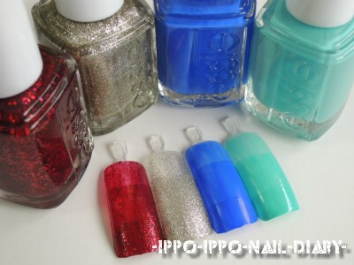 essie 2012 winter collection②