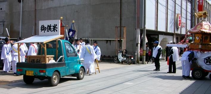 2010年3月22日 平国祭 御幸 in 一本杉通り