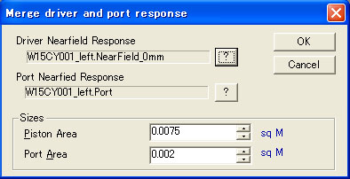 merge driver and port response