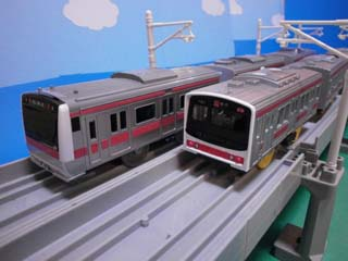 E233系京葉線&205系京葉線-1