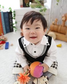 1歳バースデー伊勢崎かいとくん1