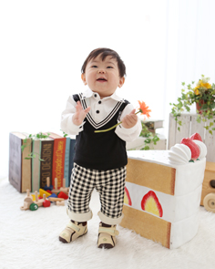 1歳バースデー伊勢崎かいとくん2