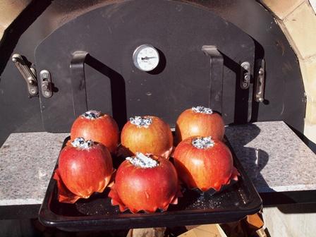 焼きリンゴ焼く前