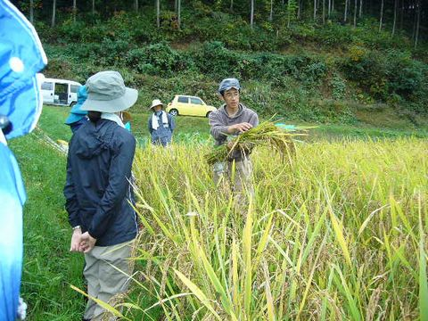 2011年10月22日大北農園自然農塾 (1)