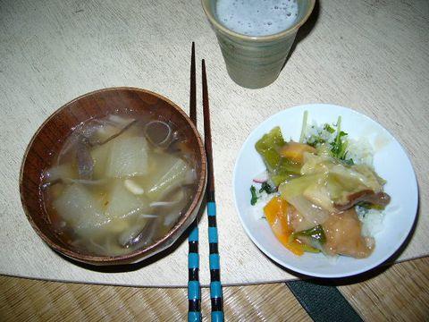 2011年12月3日室生山荘夕食 (1)