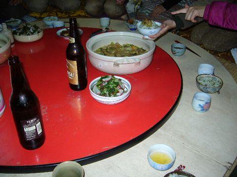 2011年12月3日室生山荘夕食 (2)