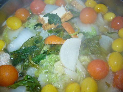 2011年12月25日トマト入り鍋 (2)
