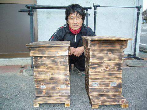 2012年1月6日 ミツバチの巣箱 (2)