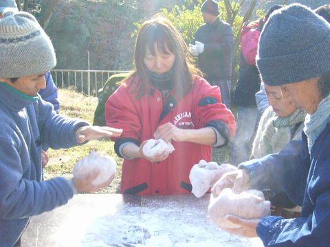 2012年1月7日新年餅つき (7)