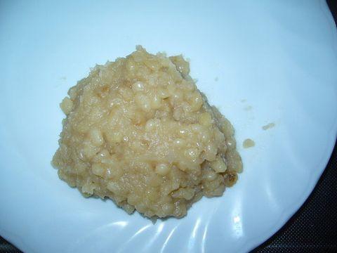 2012年2月23日白小豆のあんこ (1)
