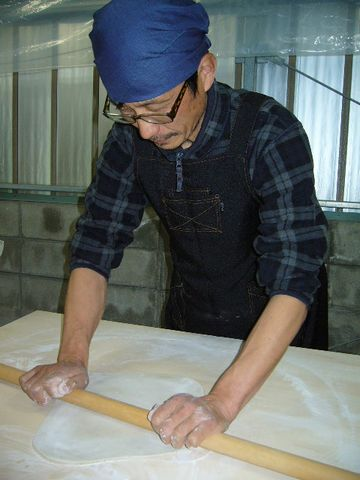 2012年4月4日蕎麦打ち (3)