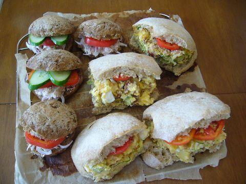 2012年8月26日 自家製サンドイッチ