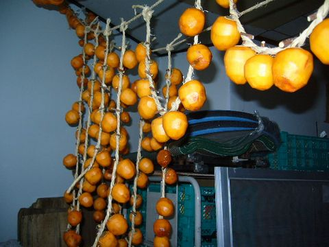 2012年11月24日干し柿