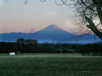富士山合掌
