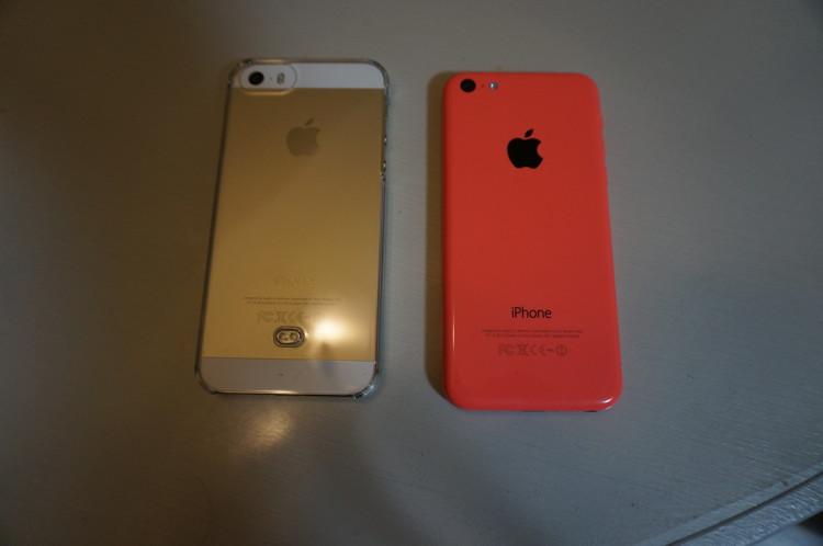 iPhoneが2台
