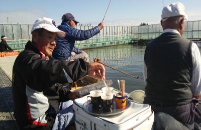 2014,11,10釣り場カフェ